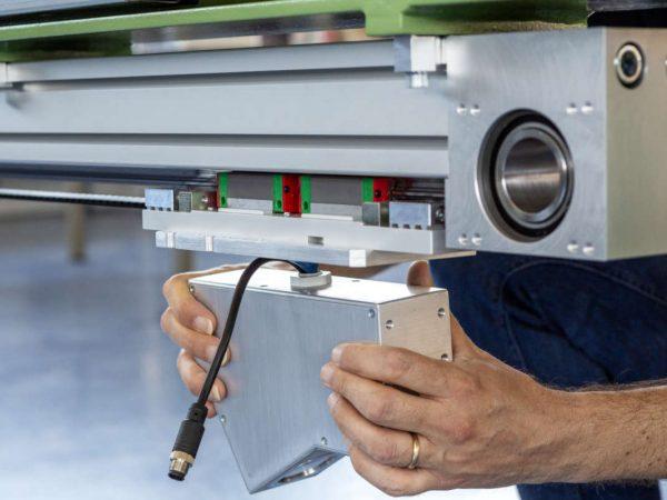 Controllo ottico bisellatura barre, Q-Tech, Brescia
