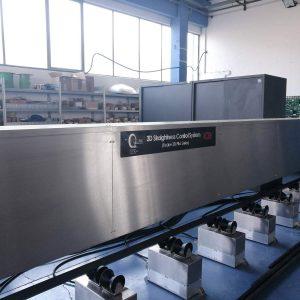 controllo ottico rettilineità barre, Q-Tech, Brescia