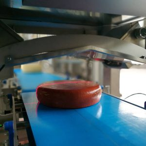 Controllo laser per taglio porzioni, Q-Tech, Brescia
